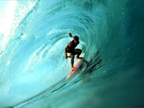 surfing a bottleneck?