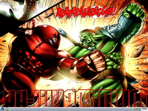 Juggernaut vs the Hulk