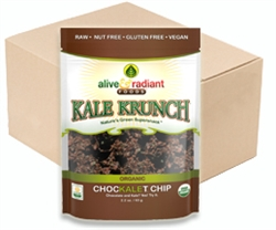 Chocolate chip kale chips. This has to be seen to be believed.