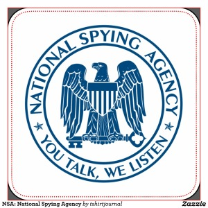 NSA spoof sticker